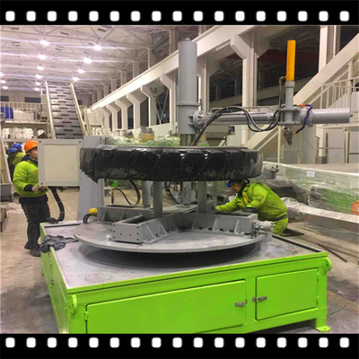 OTR Tire Disassembly Recycling Machine